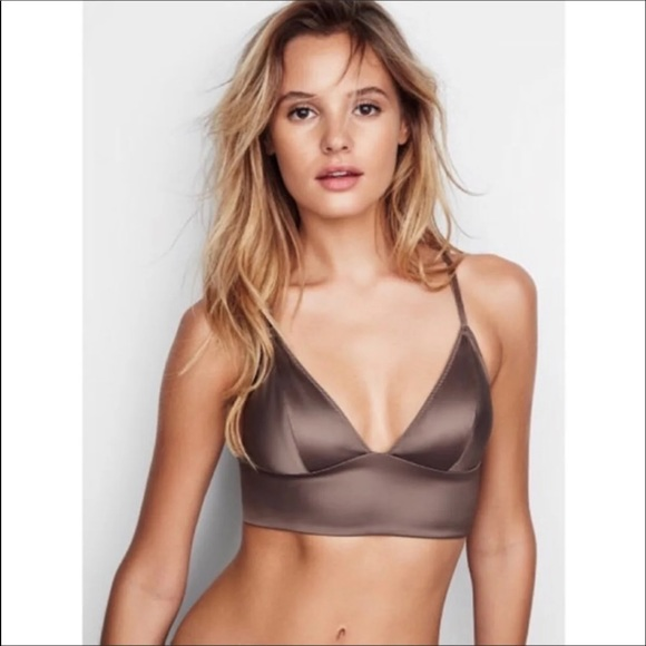 Victoria's Secret Other - NWT VS Satin Mocha Bralette